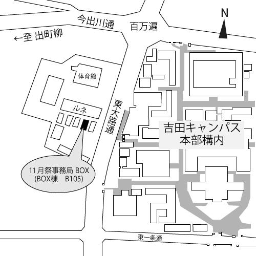 BOXの地図